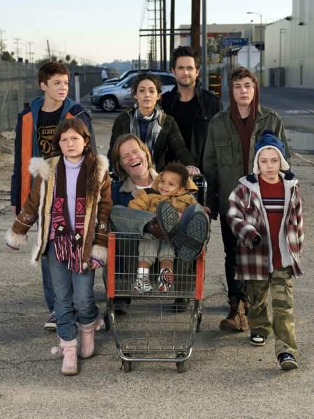 Vous connaissez la famille Gallagher ? Ils ont bien changé depuis cette photo de la saison 1 de Shameless (US)