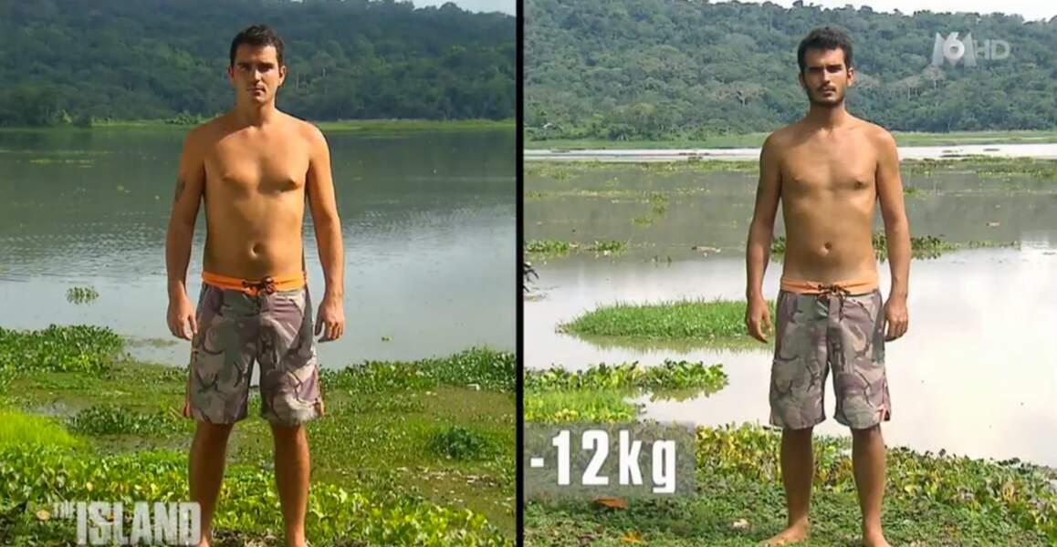 Paul Junior s'est lui aussi délesté de 12 kilos