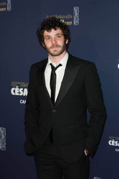 L'acteur Félix Moati, nommé dans la catégorie du Meilleur court-métrage