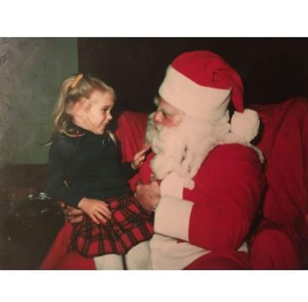 Et cette veinarde de Chloë Sevigny a pu rencontrer le Père Noël !
