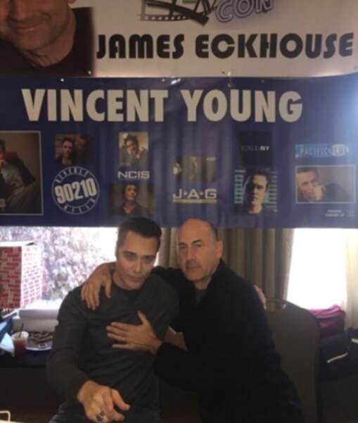 Vincent Young, l'interprète de Noah, et James Eckhouse, alias Jim Walsh, étaient de la partie