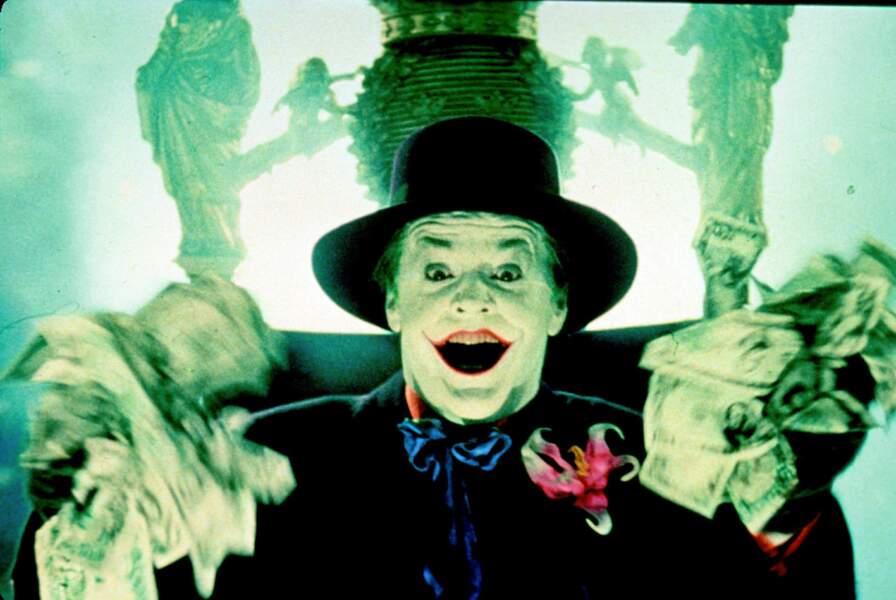 1989. Tim Burton réalise Batman et embauche Jack Nicholson pour jouer le Joker
