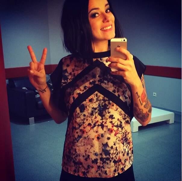 Alizée était l'une des premières chanteuses de sa génération à succomber à la folie des tatouages