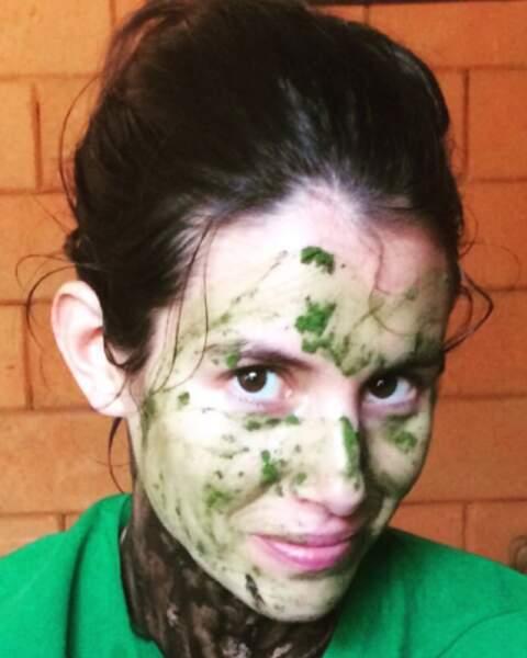 Juste besoin d'un masque pour avoir une peau éclatante