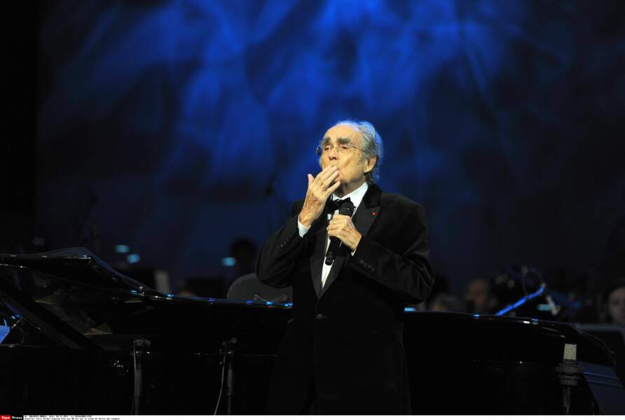 Toujours vaillant, Michel Legrand avait fêté ses 80 ans sur la scène du Palais des Congrès