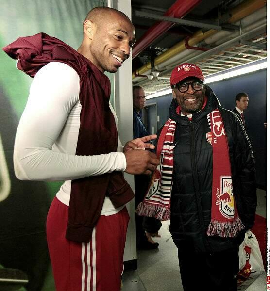 Spike Lee, amateur de ballon rond, s'entretient avec Thierry Henry