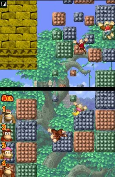 Donkey Kong : Jungle Climber - Nintendo DS (2007)