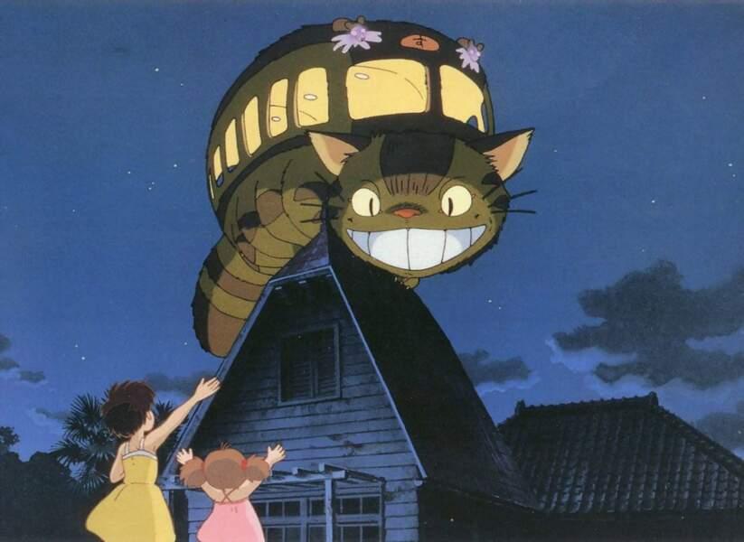 Mon voisin Totoro (1988) : et le chabus ! Un bien étrange moyen de locomotion