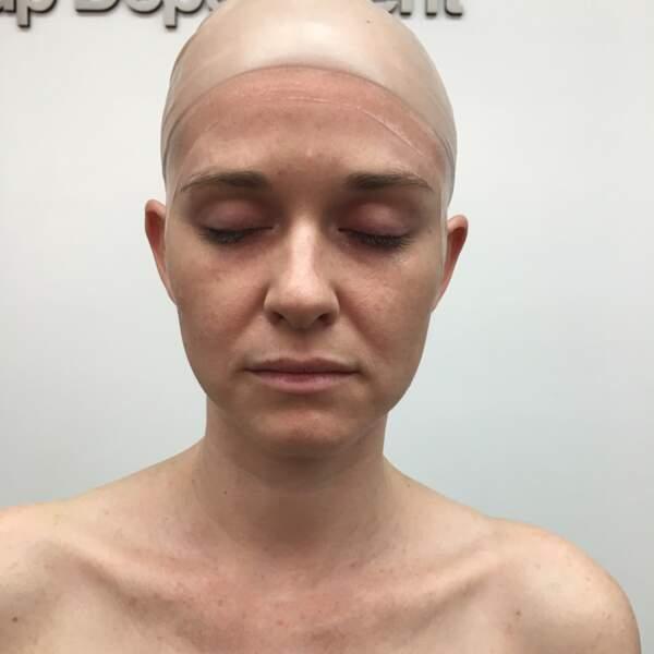 """Sarah Drew s'apprête a être """"clonée"""" pour qu'elle ne soit pas blessée pendant les scènes de réanimation d'April"""
