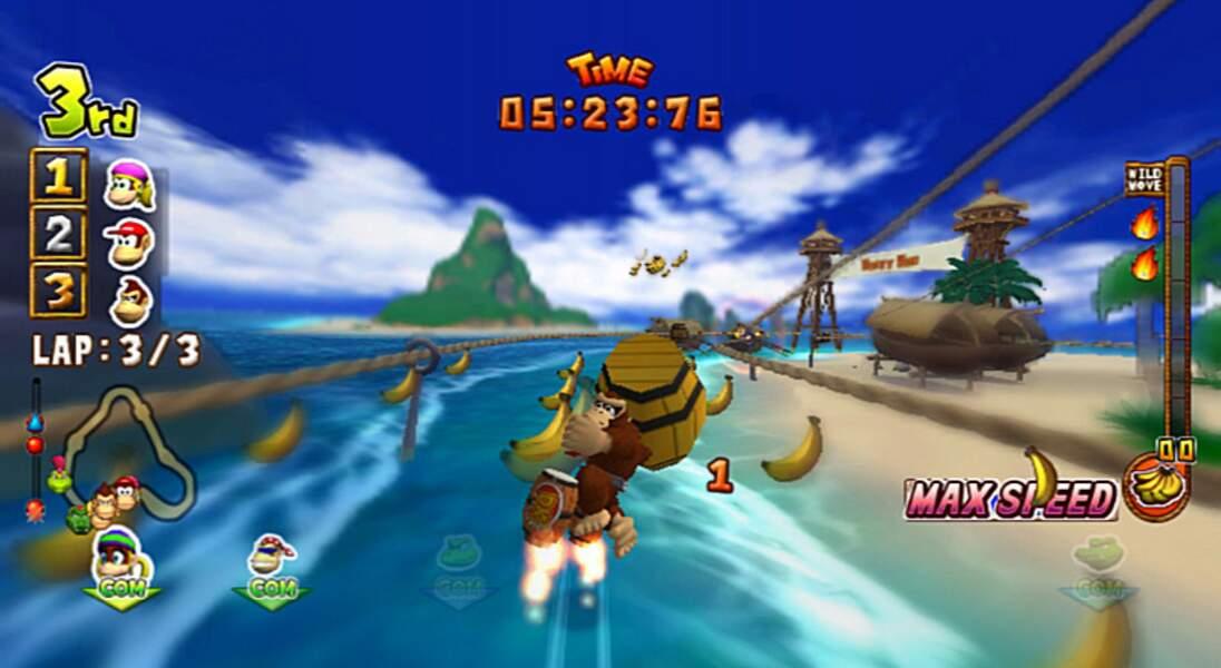 Donkey Kong : Jet Race - Wii (2007)