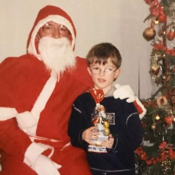 Ce petit garçon avait apparemment été très sage toute l'année.