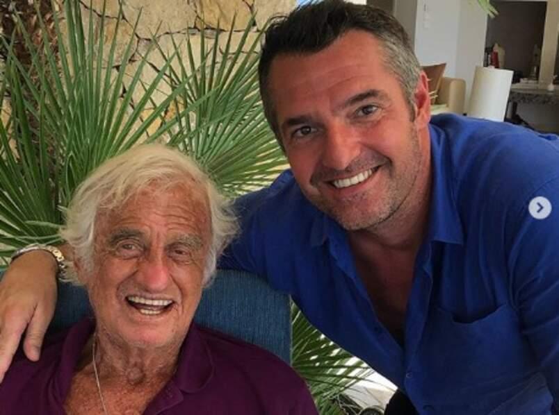 Arnaud Ducret a passé du temps de grande qualité avec Jean-Paul Belmondo.
