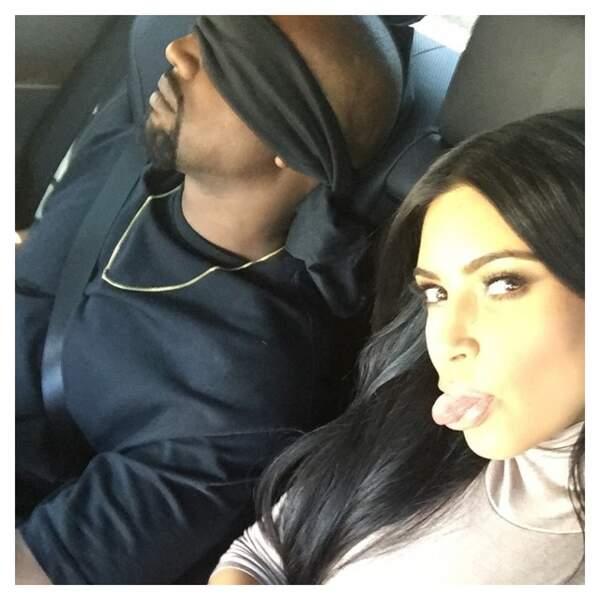De l'autre côté des USA, Kim Kardashian a préparé une surprise à Kanye West.