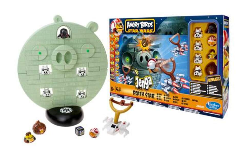 Jenga Angry Birds Star Wars