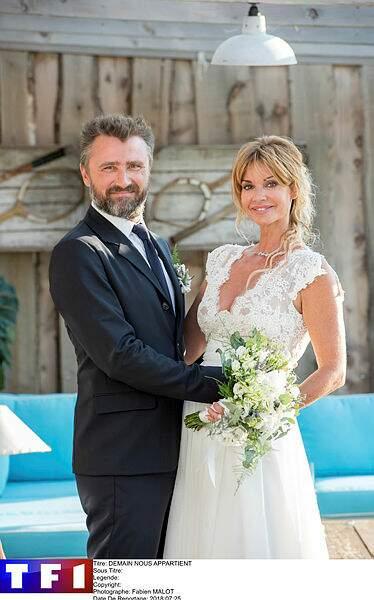 Alexandre Brasseur et son épouse cathodique Ingrid Chauvin dans Demain nous appartient