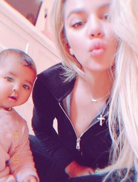 Khloe Kardashian et sa fille, True
