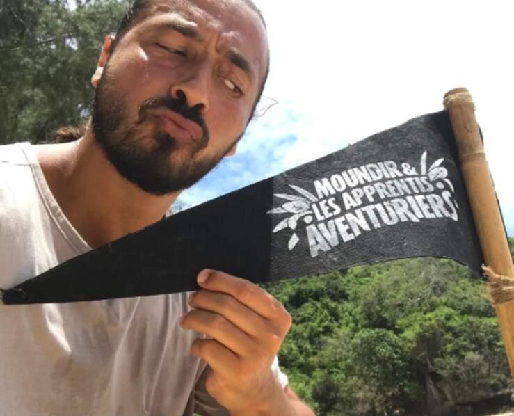 Pendant trois semaines, Moundir a tourné la deuxième saison de son jeu d'aventures pour W9