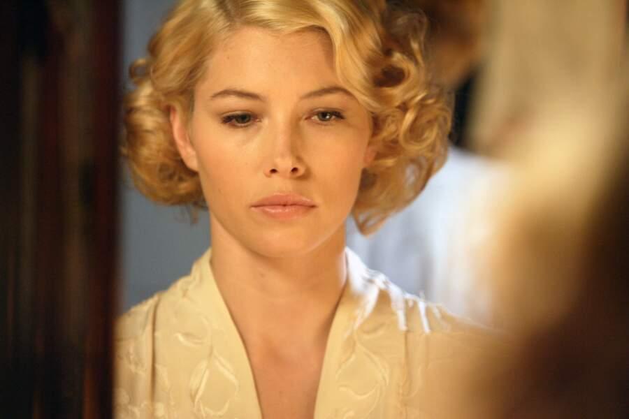 On a pu la voir en blonde dans Un mariage de rêve