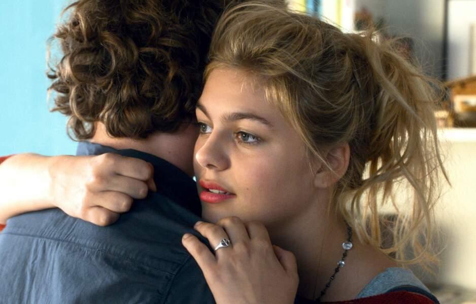 Louane amoureuse dans son premier film, La famille Bélier