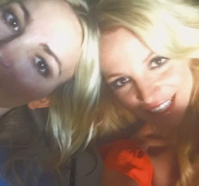Rafale de mignon : Britney Spears et sa soeur Jamie Lynn.