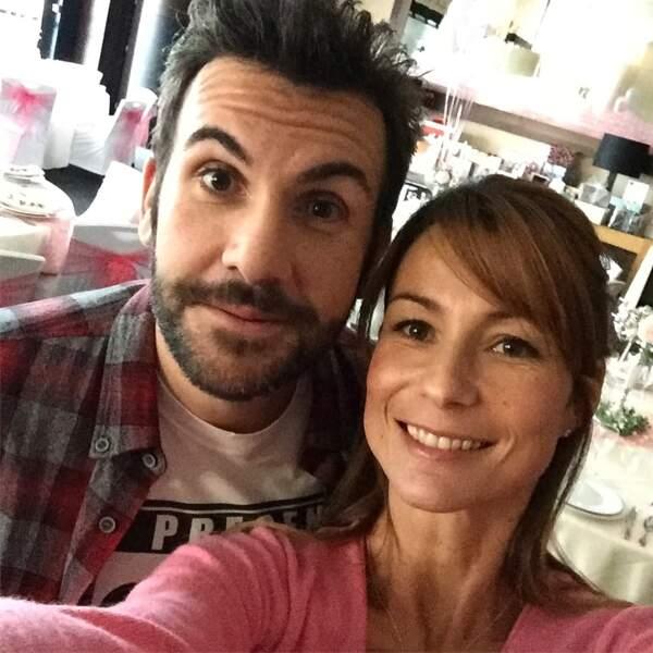 Laurent Ournac et Jennifer Lauret, ravis de se retrouver sur le tournage de cet épisode crossover