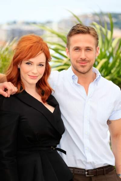 Christina Hendricks et Ryan Gosling, tandem glamour toujours