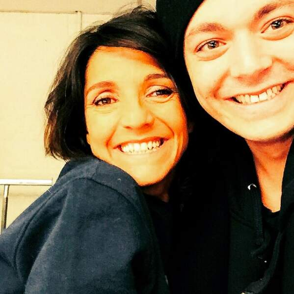 Avec sa copine Florence