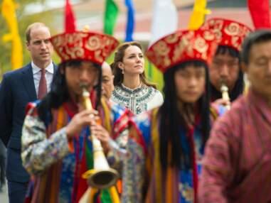 Kate et William savourent encore le Bhoutan avant de découvrir le Taj Mahal