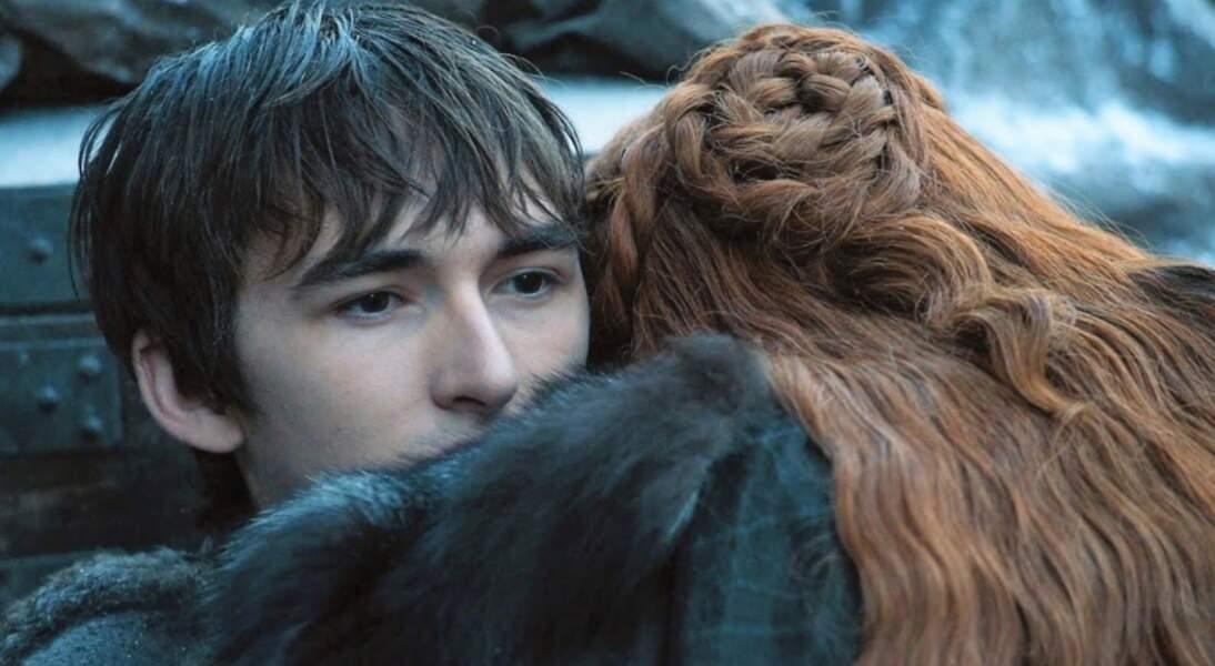 Le petit Bran est devenu quant à lui la Corneille à trois yeux