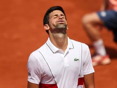 Chute, spectateurs improbables et effets d'optique... Roland-Garros 2018 insolite