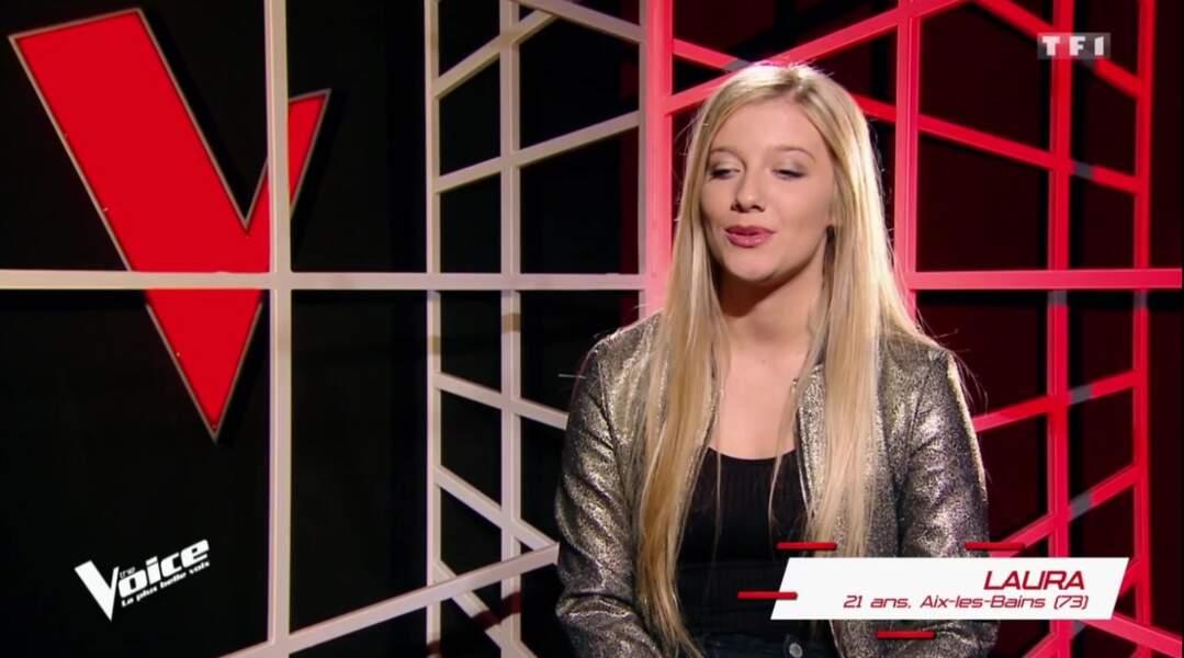 Laura, 21 ans, est dans l'équipe de Mika