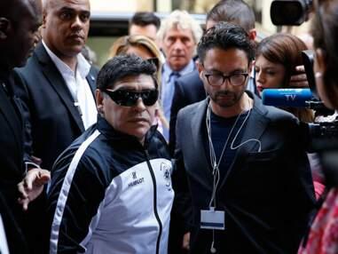Diego Maradona et Pelé enflamment Paris avant le début de l'Euro 2016