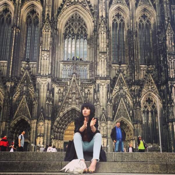 Carly Rae Jepsen est passée par Cologne en Allemagne.