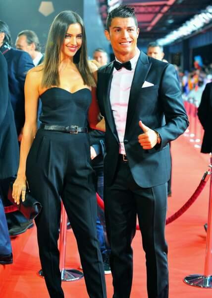 Elle est en couple avec le Ballon d'Or 2013, Cristiano Ronaldo...