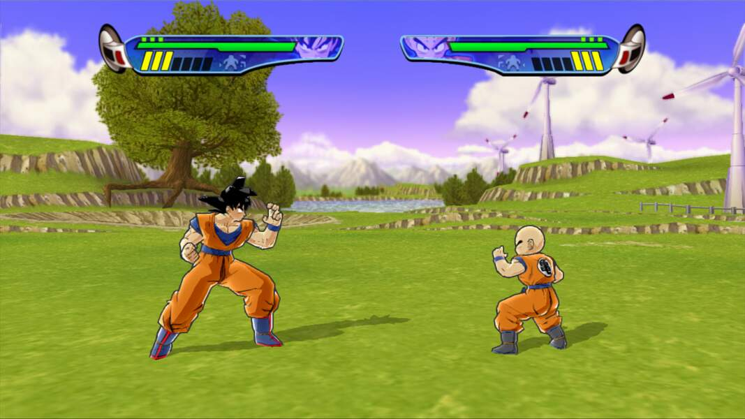 Dragon Ball Z : Budokai HD Collection (2012 - Xbox 360 & PlayStation 3)
