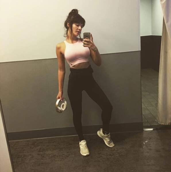 Plus jeune, Alice Detollenaere a notamment pratiqué la gymnastique