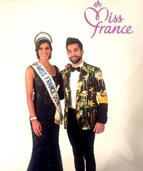Pendant ce temps-là, Miss Nord-Pas de Calais Iris Mittrenaere était sacrée Miss France 2016.