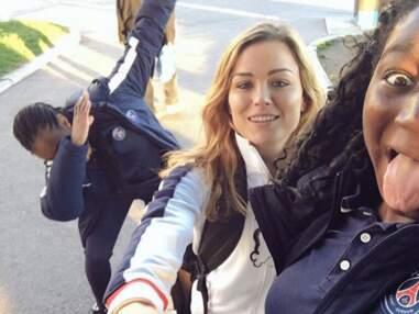 Instagram : Laure Boulleau gaga de son chien (trop mignon) et fan de handball