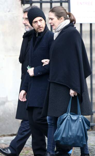 Calogero et sa compagne Marie Bastide