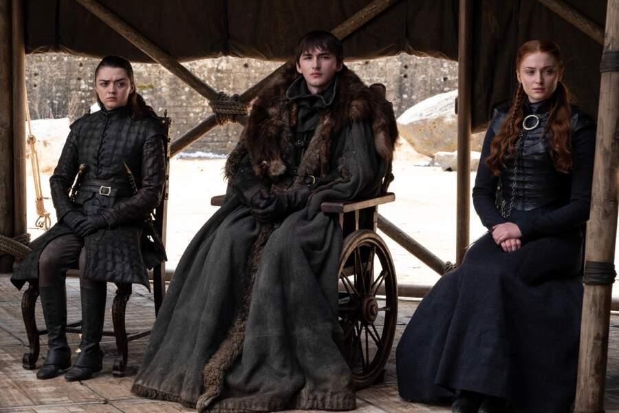 Les Starks ont bien tiré leur épingle du jeu dans cette saison 8 de Game of Thrones