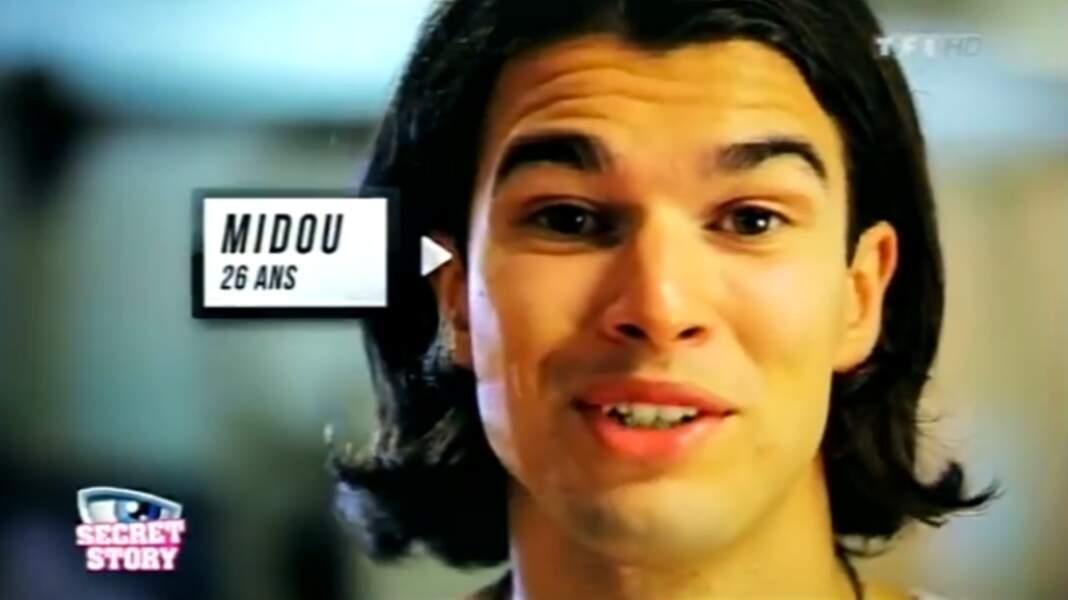 """Midou (Saison 6). Son secret : """"Je suis un habitant de la Secret Box"""""""
