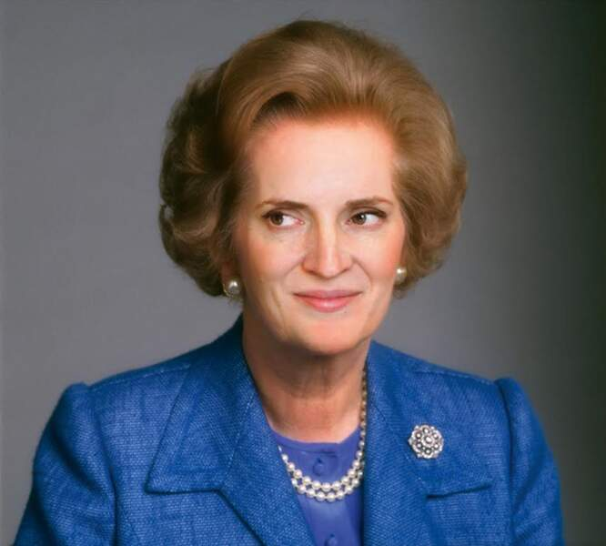 Nathalie Kosciusko-Morizet et Margaret Thatcher
