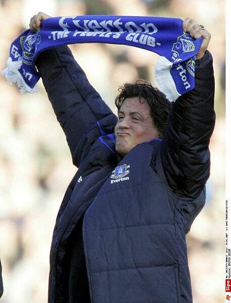 Sylvester Stallone a investi de l'argent dans le club anglais de Everton