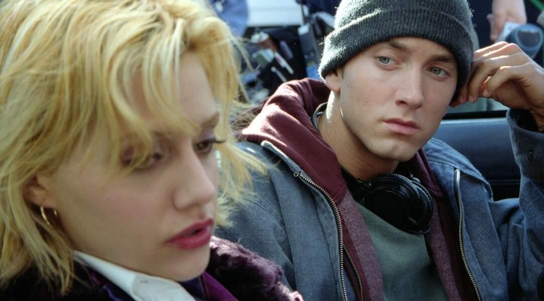 Eminem se (la) raconte dans 8 Mile (2003), film très inspiré de sa propre vie