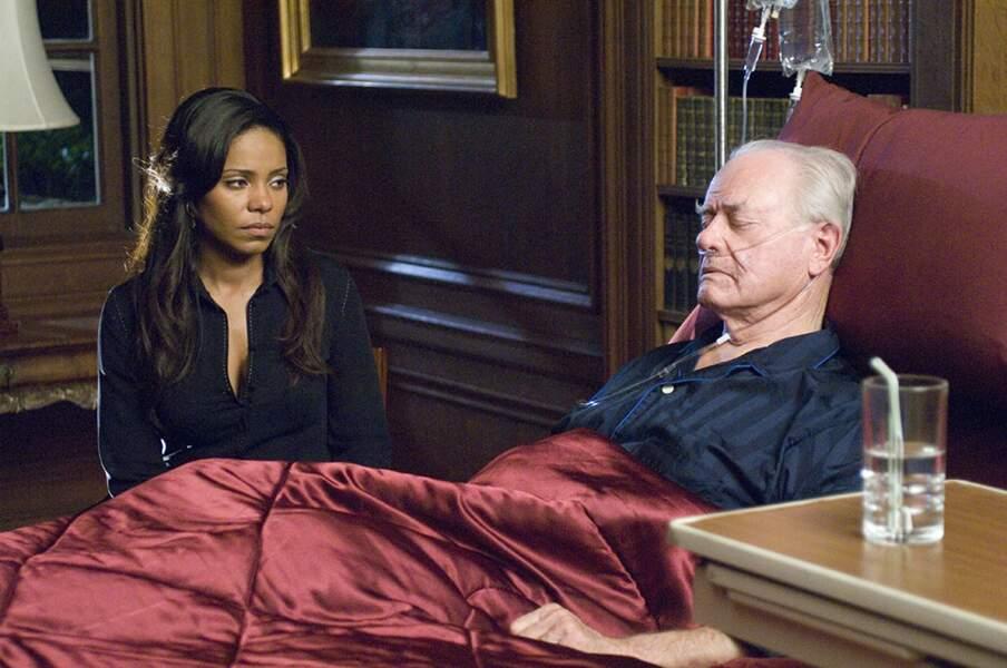 La belle Sanaa Lathan est apparue dans la saison 4 et jouait Michelle, la jeune compagne de Larry Hagman...