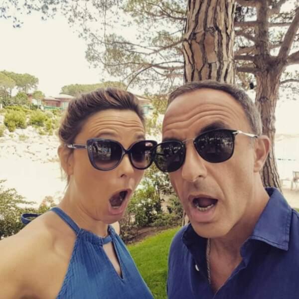 Ou encore Sandrine Quétier et Nikos Aliagas à Monaco pour le tournage de 50 minutes inside