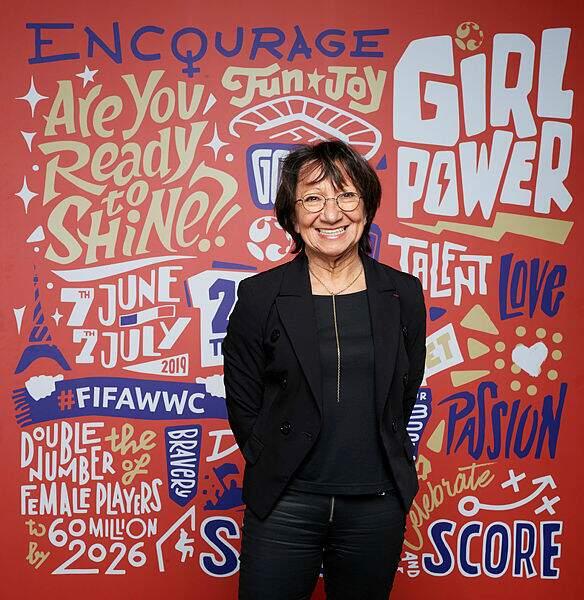 Marilou Duringer a été première femme élue au Conseil de la FFF en 1984 jusqu'aux années 2010