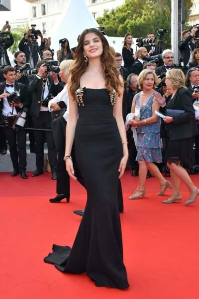 Elle a eu l'honneur de monter les marches à Cannes cette année.