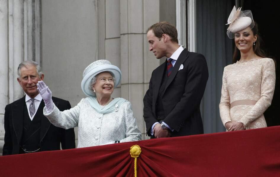 Ils jubilent : car la reine fête ses 60 ans de règne en juin 2012