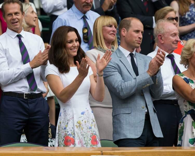 Kate Middleton était très en beauté au côté de William
